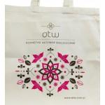 Torba ekologiczna bawełniana z logo ATW